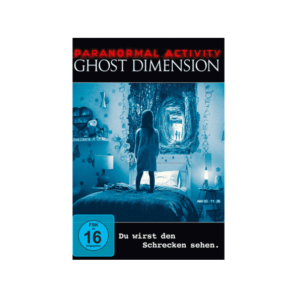 Paranormal Activity: The Ghost Dimension - (DVD)