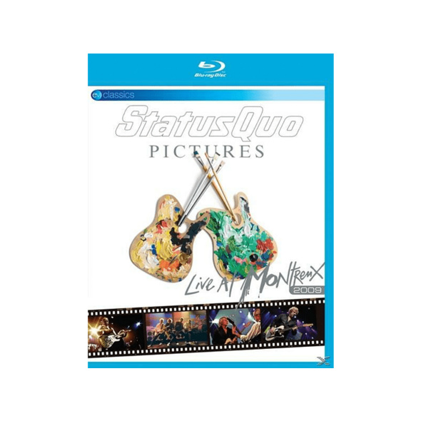 Status Quo - Pictures-Live At Montreux 2009 - (Blu-ray)