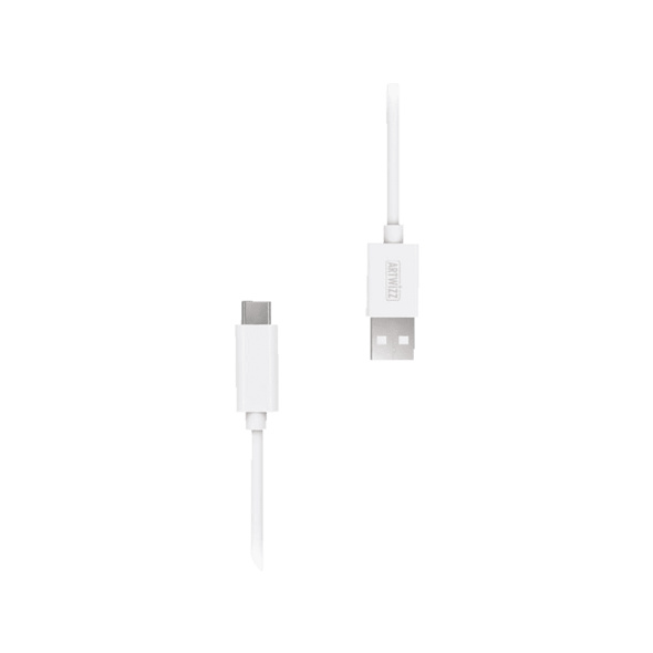 ARTWIZZ USB-C auf USB-A, Kabel, 1 m, Weiß