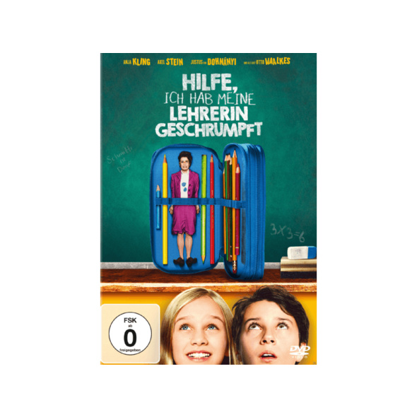 Hilfe, ich habe meine Lehrerin geschrumpft - (DVD)