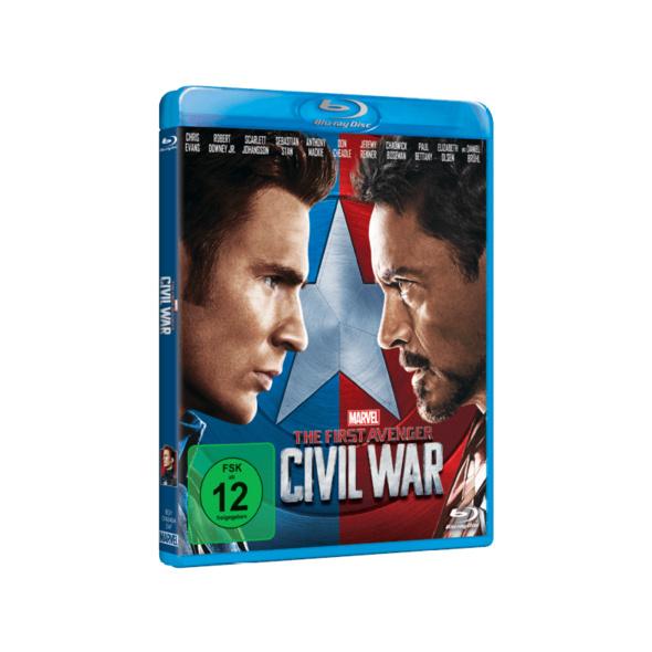 The First Avenger: Civil War - (Blu-ray)