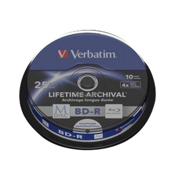 VERBATIM M-Disc BD-R, BD-R