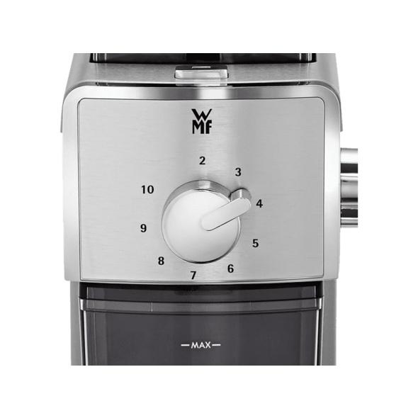 WMF 04.1707.0011 STELIO, Kaffeemühle, Cromargan® matt