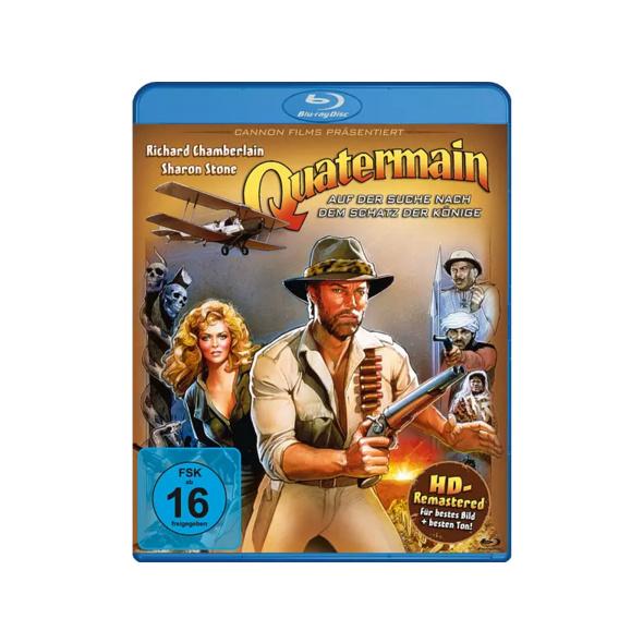 Quatermain - Auf der Suche nach dem Schatz der Könige - (Blu-ray)