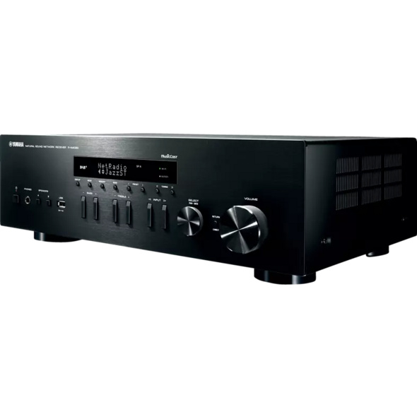 YAMAHA R-N402D, Stereo Receiver, Schwarz