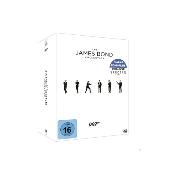 The James Bond Collection - (DVD)