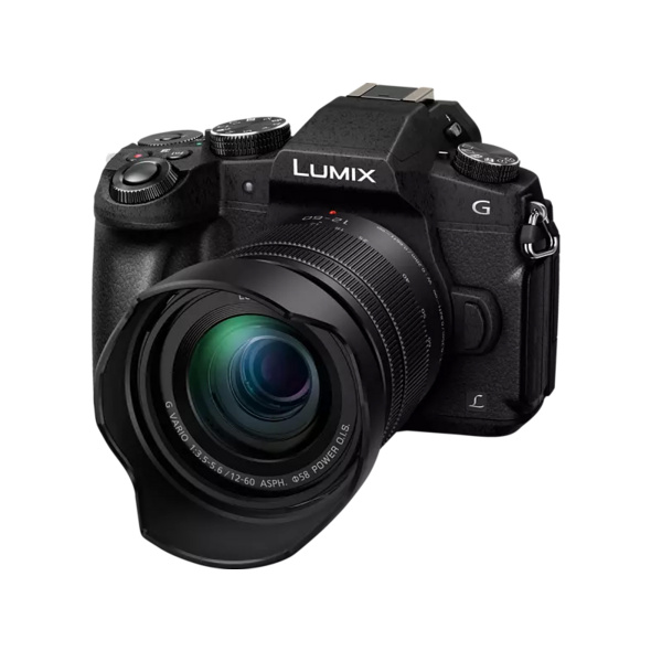 PANASONIC Lumix DMC-G81MEG Systemkamera 16 Megapixel mit Objektiv 12-60 mm , 7.5 cm Display  , WLAN