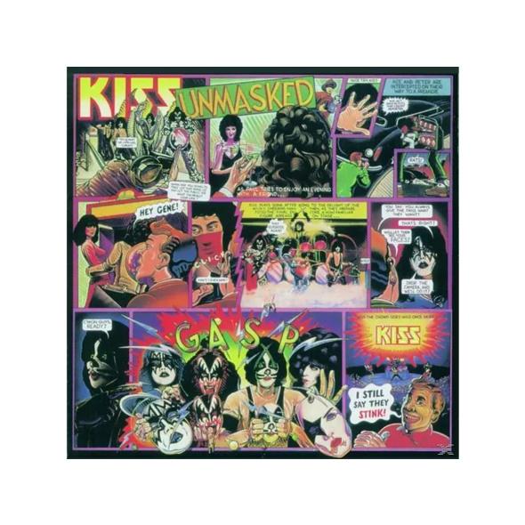 Kiss - Unmasked (German Version) - (CD)