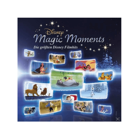 OST/VARIOUS - Disney Magic Moments-Die Größten Disney Filmhits  - (CD)