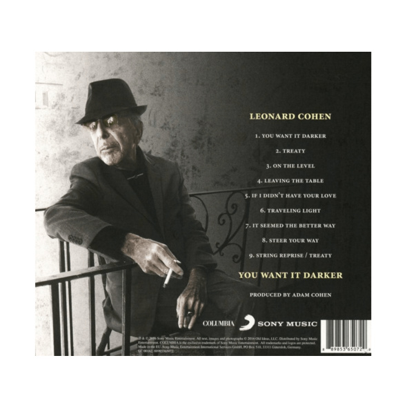 Leonard Cohen - You Want It Darker - (CD)