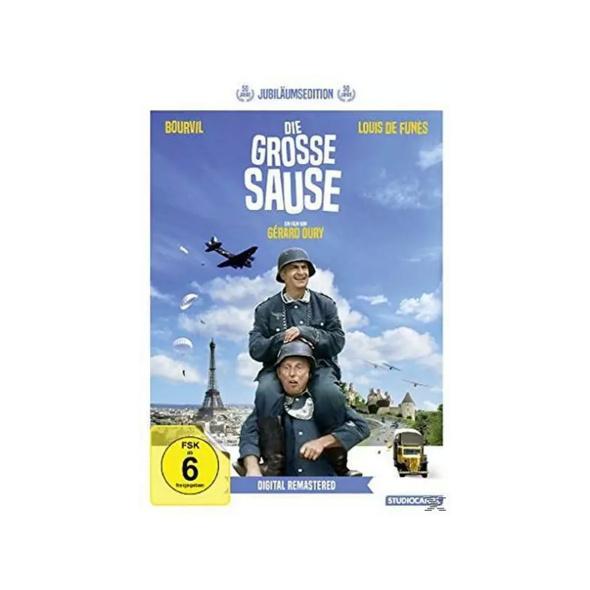 Die Grosse Sause (Jubiläumsedition/Digital ReM.) - (DVD)