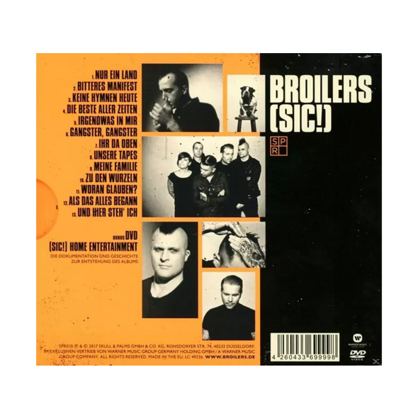 Broilers - (sic!) Limited Deluxe-Edition (DigiPak) - (CD + DVD Video)