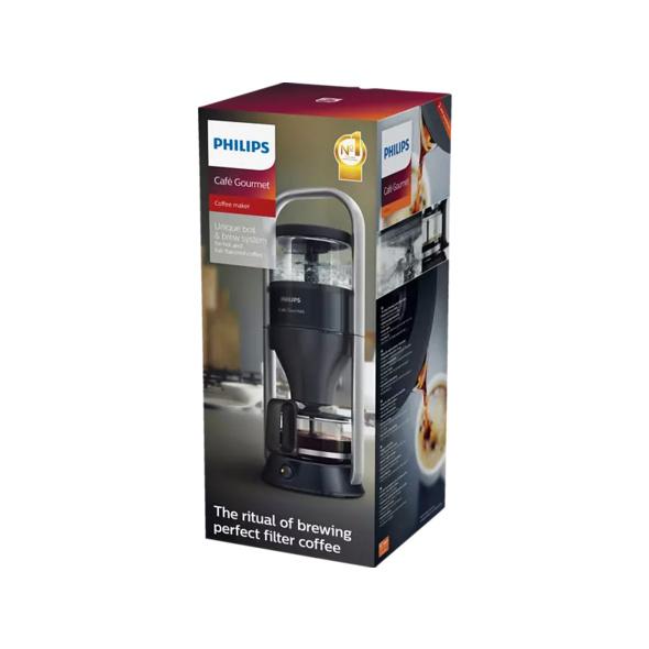 PHILIPS HD5408/20 Café Gourmet, Kaffeemaschine, Schwarz/Silber