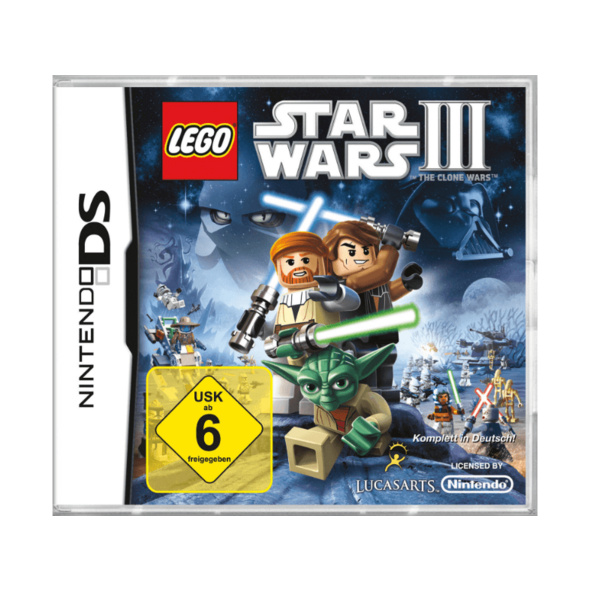 LEGO Star Wars III: The Clone Wars (Software Pyramide) - Nintendo 3DS