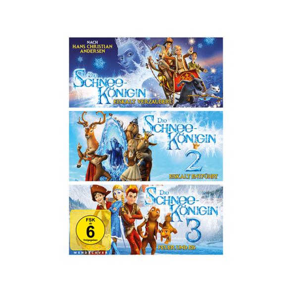 Die Schneekönigin 1 -3 - (DVD)