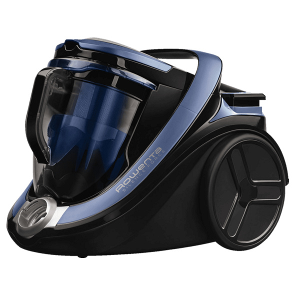 ROWENTA RO7681EA Silence Force Cyclonic 4A Animal Care Pro, Staubsauger ohne Beutel, Blau