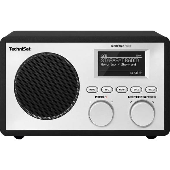 TECHNISAT DIGITRADIO 301 IR, Internetradio, Schwarz