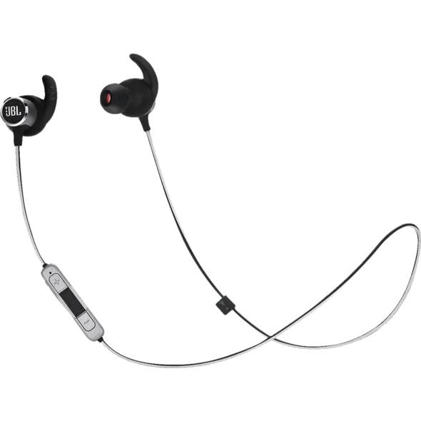 JBL Reflect Mini BT2, In-ear Kopfhörer, Headsetfunktion, Bluetooth, Schwarz