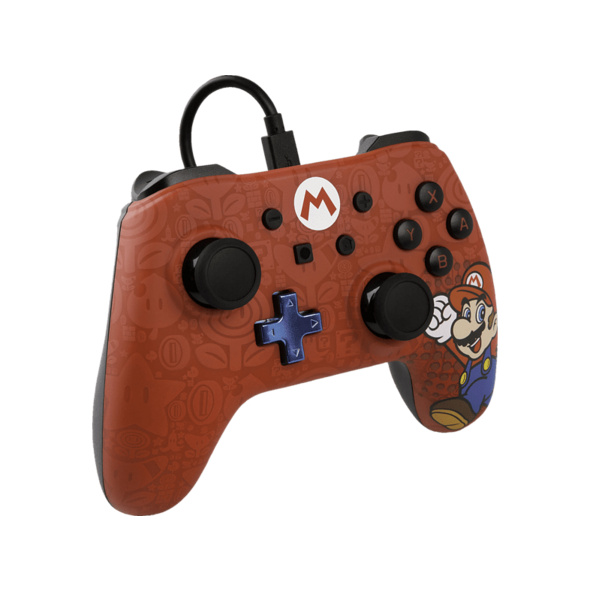 POWER A Mario Core Wired Iconic  Controller, Mehrfarbig