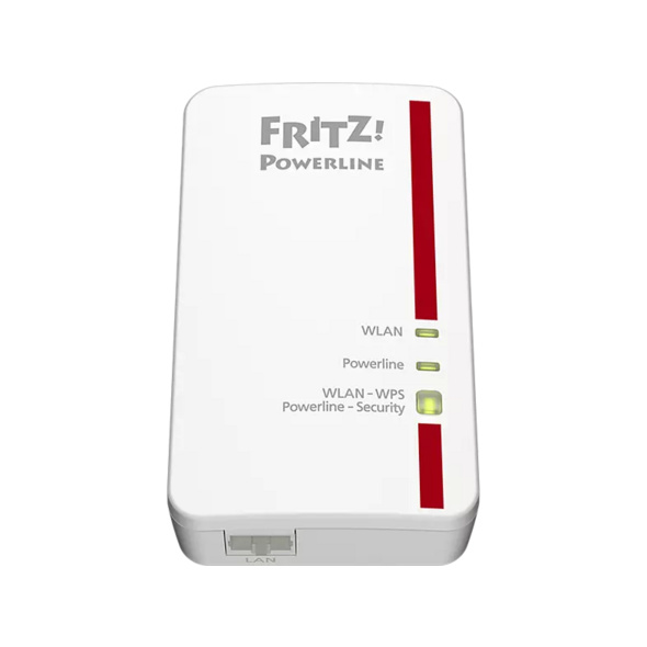 Powerline Adapter AVM FRITZ!Powerline 1240E WLAN Set 1200 Mbit/s Kabellos und Kabelgebunden