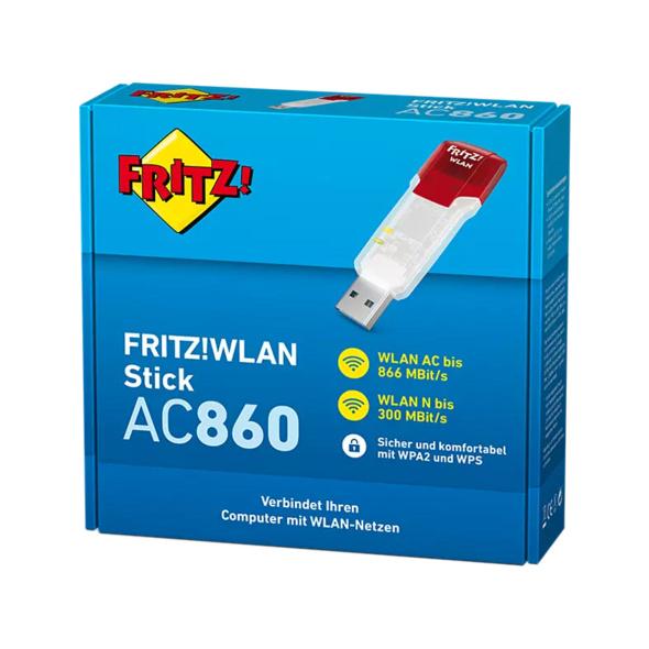 WLAN USB Adapter AVM FRITZ!WLAN Stick AC 860