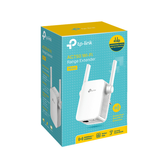 WLAN Repeater TP-LINK RE205 (AC750-Dualband)