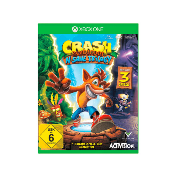 Crash Bandicoot N. Sane-Trilogie - Xbox One