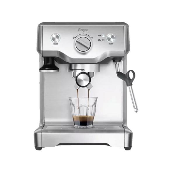 SAGE SES810BSS2EEU1 The Duo Temp Pro, Espressomaschine, 15 bar