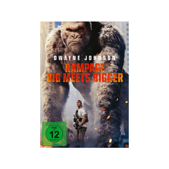 Rampage: Big Meets Bigger - (DVD)