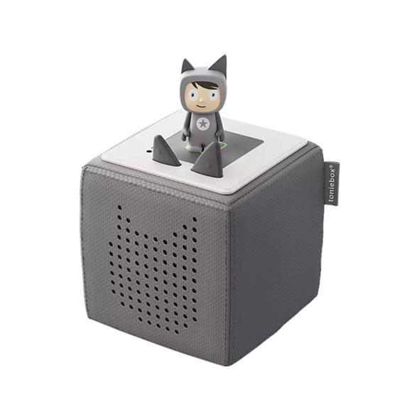 BOXINE Audiosystem Tonies Toniebox - Starterset - inkl. Kreativ Tonie Audiosystem, Anthrazit