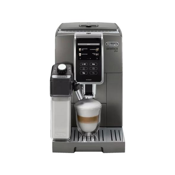 DELONGHI ECAM 376.95.T Dinamica Plus, Kaffeevollautomat, 1.8 l Wassertank, 19 bar, Titanium