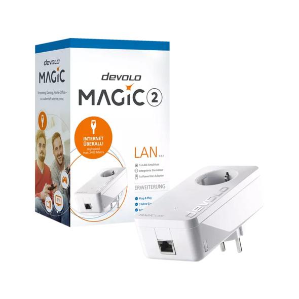 Powerline Adapter DEVOLO 8252 Magic 2 LAN 1-1-1 Powerline 2400 Mbit/s kabelgebunden