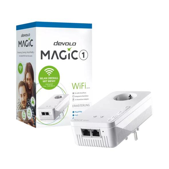 Powerline Adapter DEVOLO 8351 Magic 1 WiFi 2-1-1 Powerline 1200 Mbit/s Kabellos und Kabelgebunden