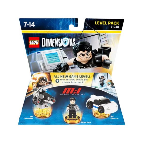LEGO DIMENSIONS Lego Dimensions Level Pack Mission Impossible Smarttoys