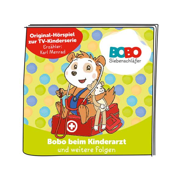 BOXINE Tonie-Hörfigur: Bobo Siebenschläfer - Bobo beim Kinderarzt und weitere Folgen Hörfigur, Mehrfarbig