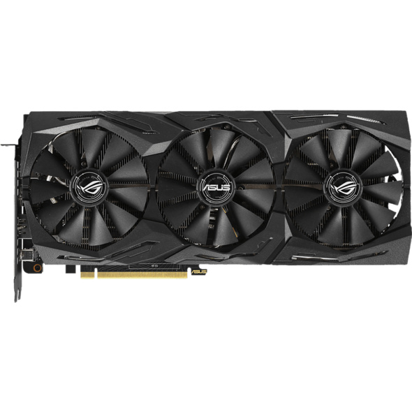 ASUS GeForce RTX™ 2070 ROG Strix Gaming OC 8GB (90YV0C90-M0NA00) (NVIDIA, Grafikkarte)