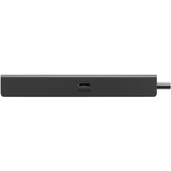 AMAZON Fire TV Stick 4K mit der neuen Alexa-Sprachfernbedienung Streaming Stick, Schwarz, 8 GB