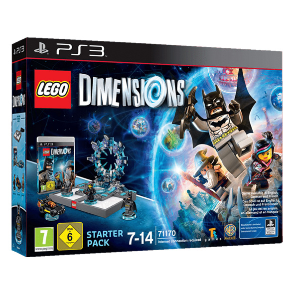 LEGO DIMENSIONS LEGO Dimensions Starter Pack PS3 Smart Toy