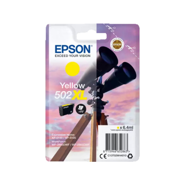 EPSON 502 XL Yellow (C13T02W44010)