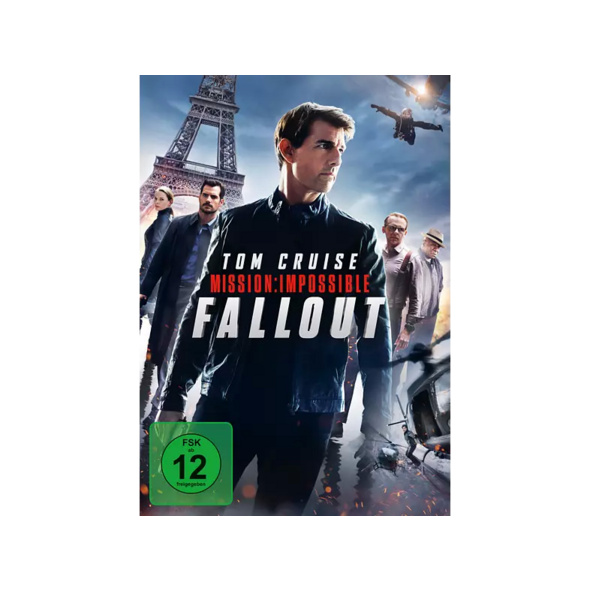 Mission: Impossible - Fallout - (DVD)