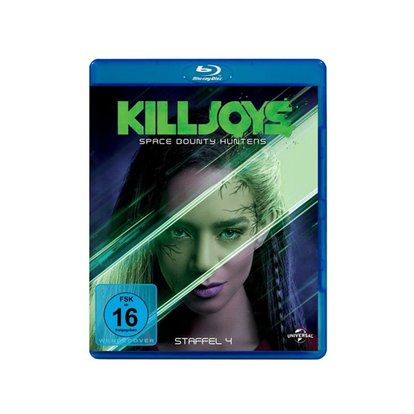 Killjoys-Space Bounty Hunters Staffel 4 - (Blu-ray)