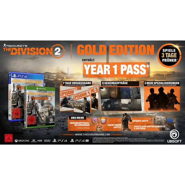 Tom Clancy's The Division 2 - Gold Edition - Xbox One