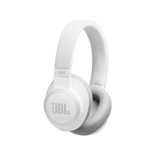 JBL LIVE 650 BTNC, Over-ear Kopfhörer, Headsetfunktion, Bluetooth, Weiß