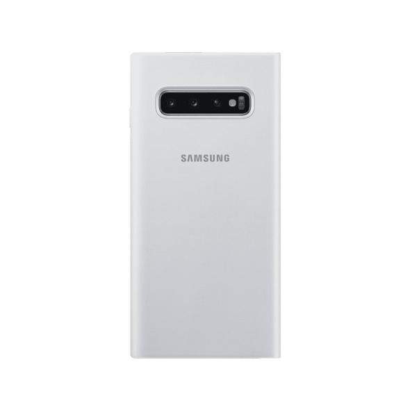 SAMSUNG LED View Cover Handyhülle, Samsung Galaxy S10, Weiß