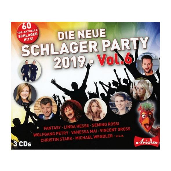 VARIOUS - Die neue Schlager Party,Vol.6 (2019) - (CD)