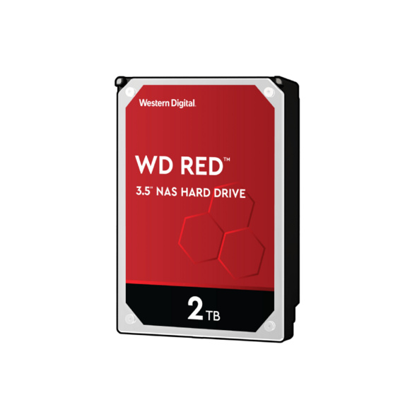 WD Red™, 2 TB HDD, 3.5 Zoll, intern
