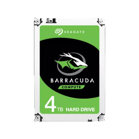 SEAGATE Barracuda, 4 TB HDD, 3.5 Zoll, intern