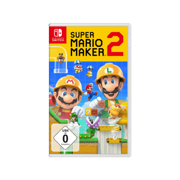 Switch Super Mario Maker 2 - Nintendo Switch