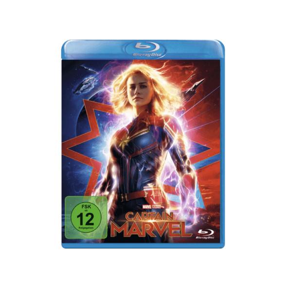 Captain Marvel - (Blu-ray)