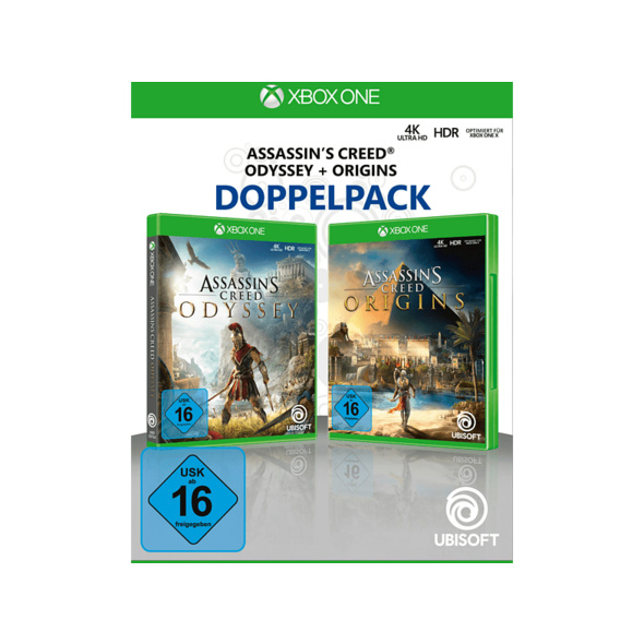 Assassin's Creed Odyssey + Origins Doppelpack - Xbox One